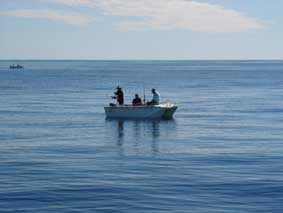 Calm </p> <p>Seas